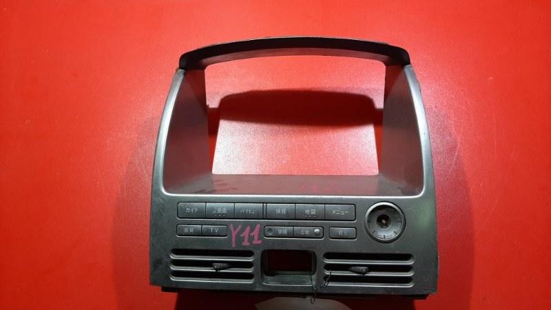 Консоль магнитофона Nissan Wingroad WFY11 QG13-DE 1999 (б/у)