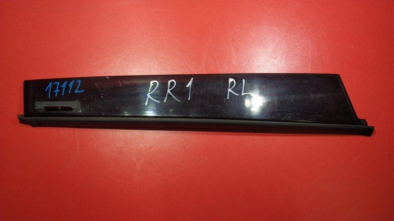 Накладка двери Honda Elysion RR1 K24A 2004 задняя левая (б/у)