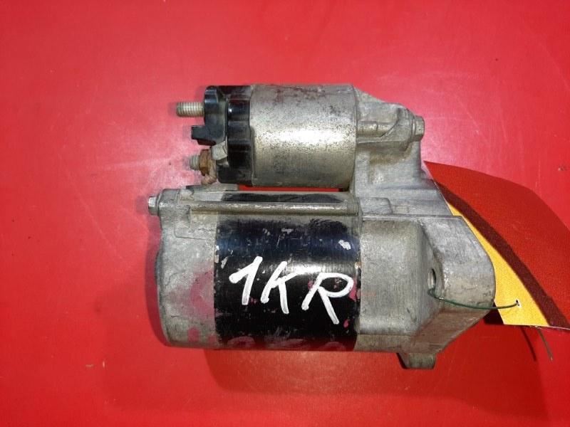 Стартер Toyota Passo KGC10 1KR-FE 2004 (б/у)