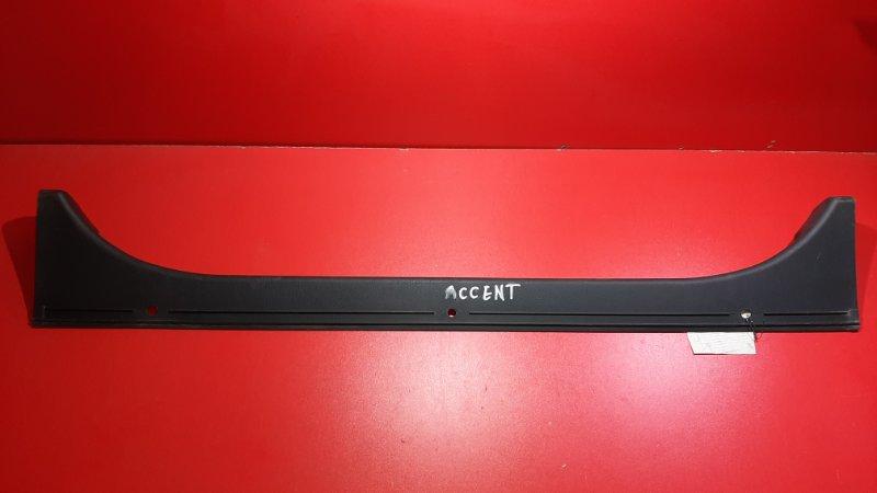 Обшивка багажника Hyundai Accent LC G4ED 1999 (б/у)