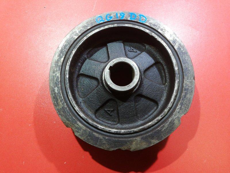 Шкив коленвала Nissan Almera N15 GA15DE 1998 (б/у)