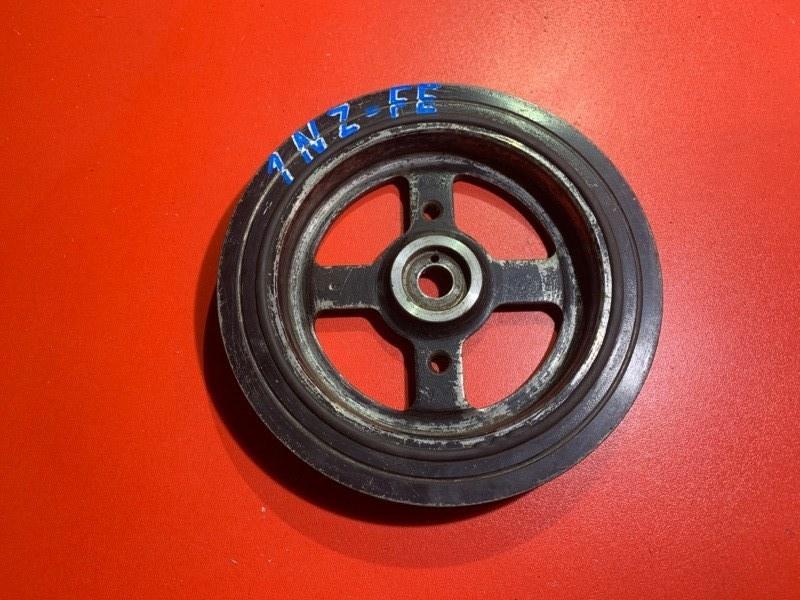 Шкив коленвала Toyota Allex NZE121 1NZ-FE 2001 (б/у)