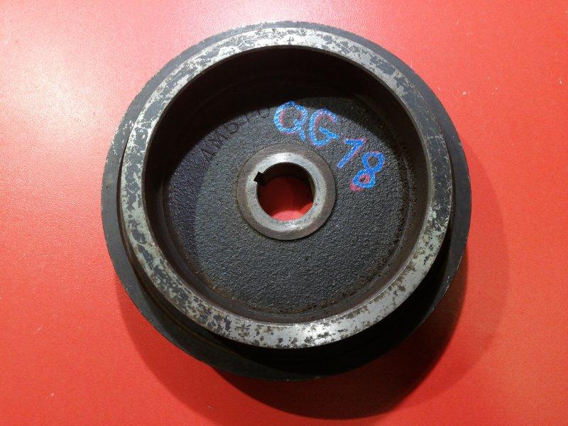 Шкив коленвала Nissan Primera QP12 QG18DE 2001 (б/у)