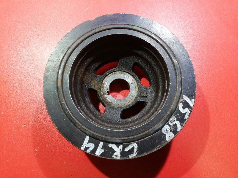 Шкив коленвала Nissan Wingroad VFY11 QG15DE 1999 (б/у)