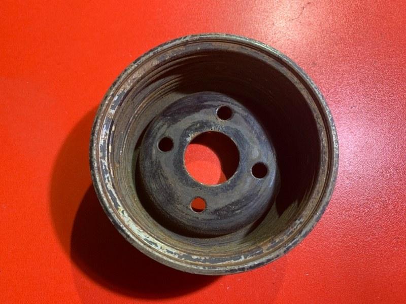 Шкив помпы Toyota Caldina AT191 3ALU 1999 (б/у)