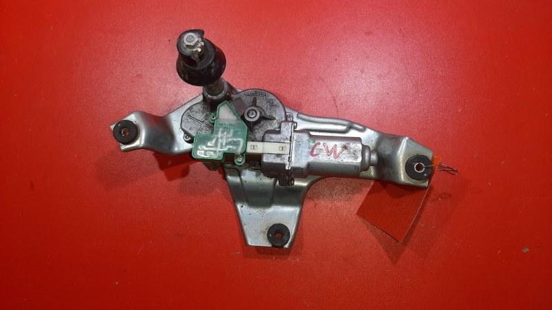 Моторчик заднего дворника Mitsubishi Outlander CW4W 4B11 2007 задний (б/у)
