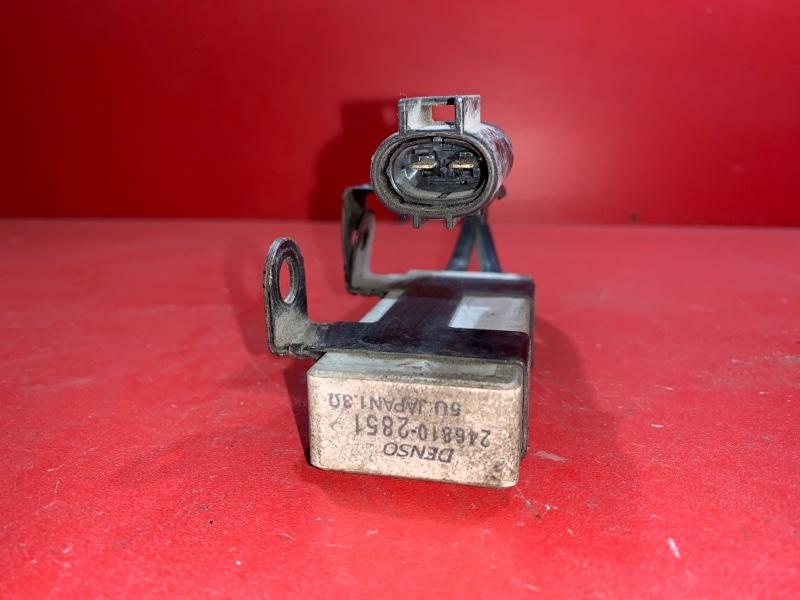 Резистор вентилятора охлаждения Toyota Platz NCP12 1NZFE 2004 (б/у)