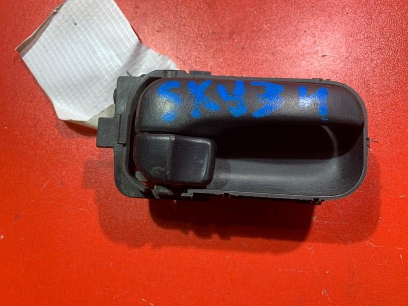 Ручка двери внутренняя Nissan Skyline BNR34 QG15DE 2000 (б/у)
