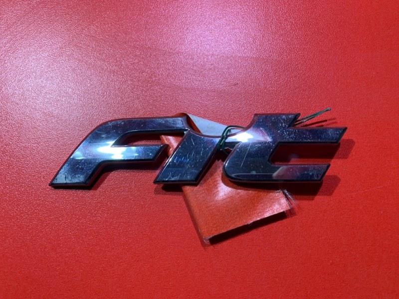 Эмблема Honda Fit GD1 L13A 2005 (б/у)