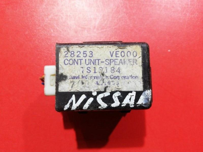 Тв тюнер Nissan Wingroad VENY11 QG13DE 1999 (б/у)