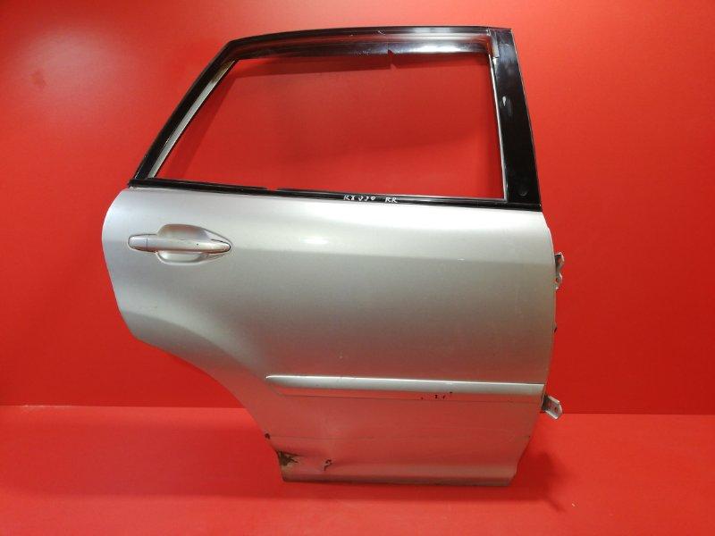 Дверь Lexus Rx330 MCU30 3MZFE 2003 задняя левая (б/у)
