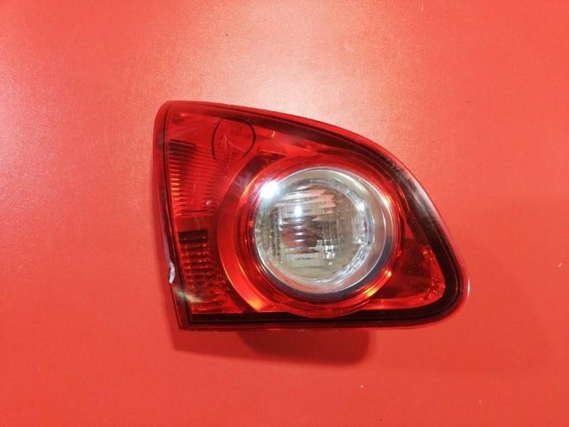 Фонарь крышки багажника Nissan Qashqai J10 HR16DE 2006 задний левый (б/у)