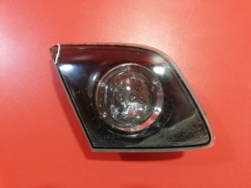 Фонарь крышки багажника Mazda Mazda3 BKEP Z6 2003 задний левый (б/у)