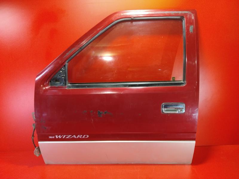 Дверь Isuzu Mu UCS69GW 4JG2 1995 передняя левая (б/у)