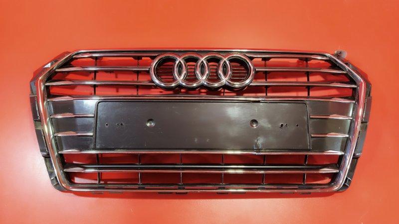 Решетка радиатора Audi A4 8W2 CRTC 2015 передняя (б/у)