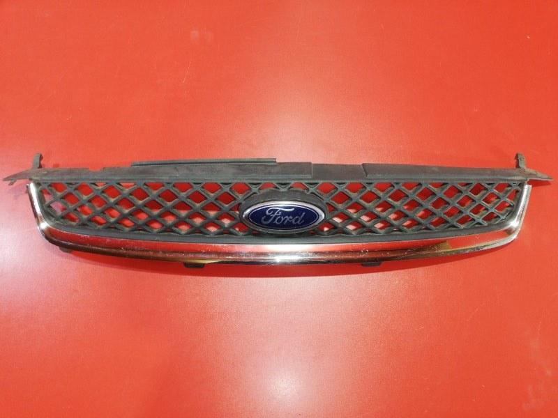 Решетка радиатора Ford Fiesta CBK M7JA 2005 передняя (б/у)