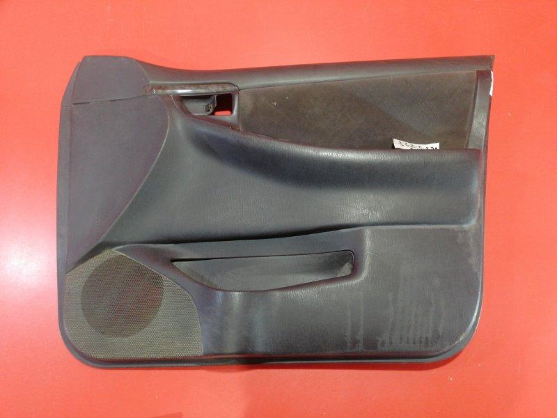 Обшивка двери Toyota Corolla Fielder NZE124G 1NZ-FE 2004 передняя правая (б/у)
