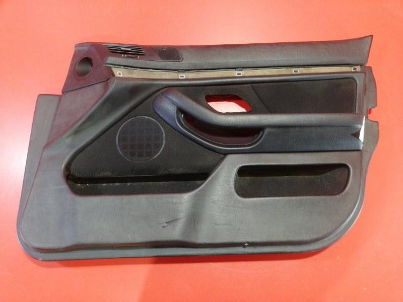 Обшивка двери Bmw 5-Series E39 M52B20 1995 передняя правая (б/у)