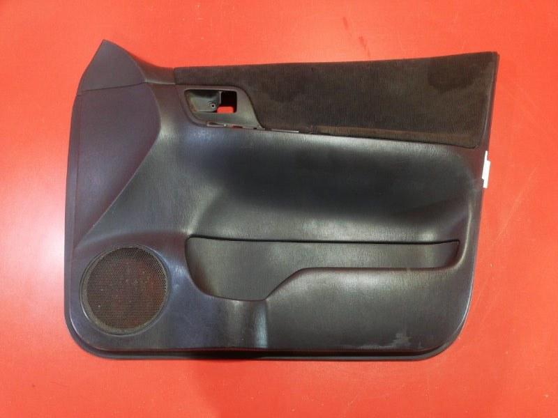 Обшивка двери Toyota Corolla Spacio ZZE122N 1ZZ-FE 2001 передняя правая (б/у)