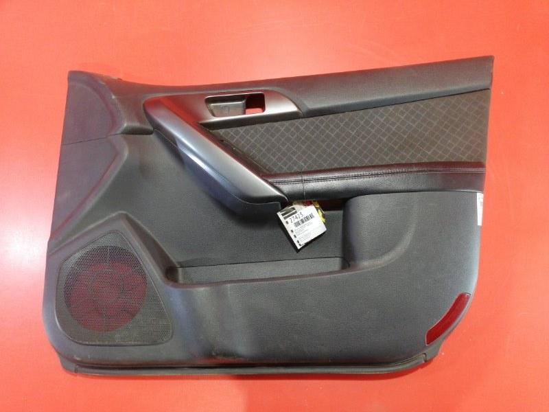 Обшивка двери Kia Cerato TD G4FC 2008 передняя правая (б/у)
