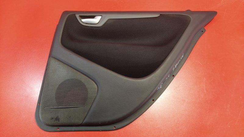 Обшивка двери Volvo S60 RS B5204T5 2000 задняя правая (б/у)