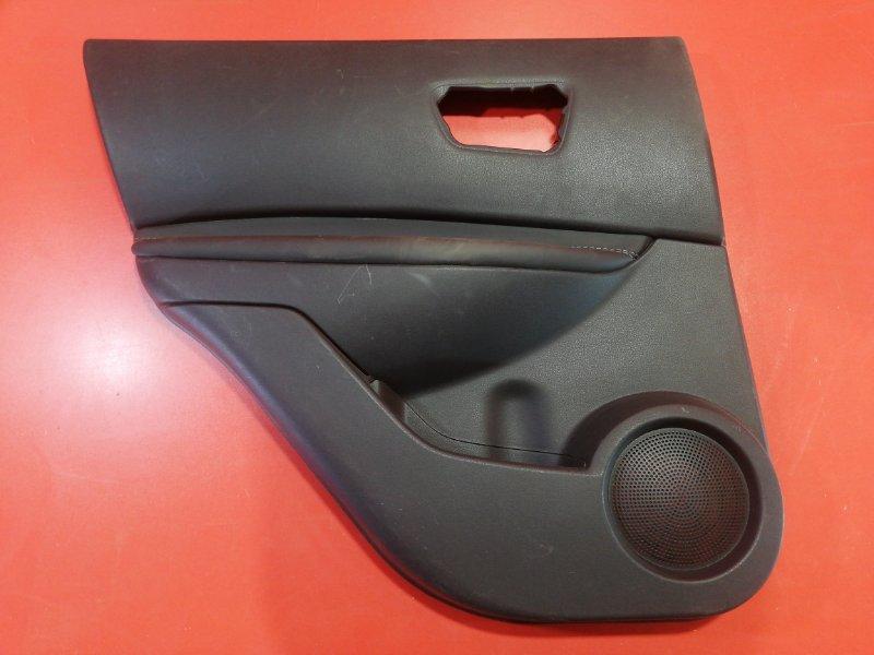 Обшивка двери Nissan Qashqai J10 HR16DE 2006 задняя левая (б/у)