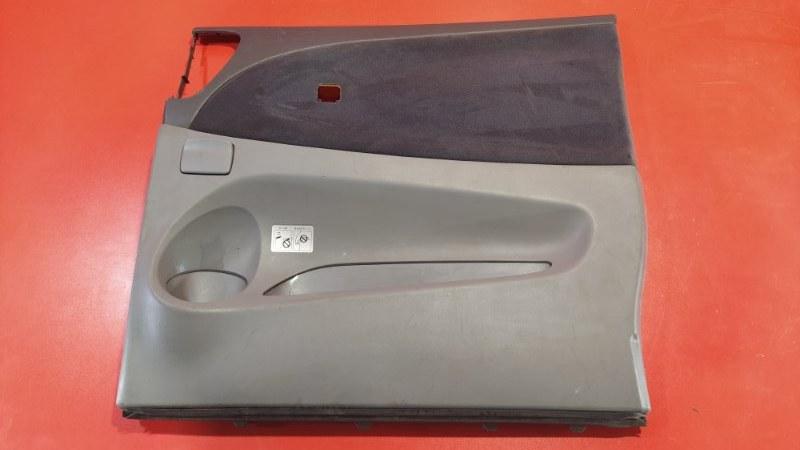 Обшивка двери Toyota Estima ACR30W 2AZ-FXE 2000 задняя правая (б/у)