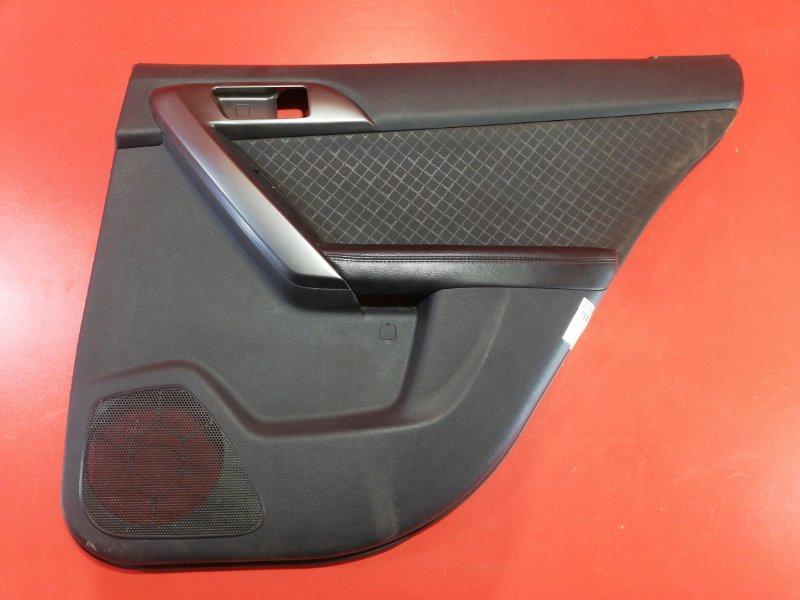 Обшивка двери Kia Cerato TD G4FC 2008 задняя правая (б/у)