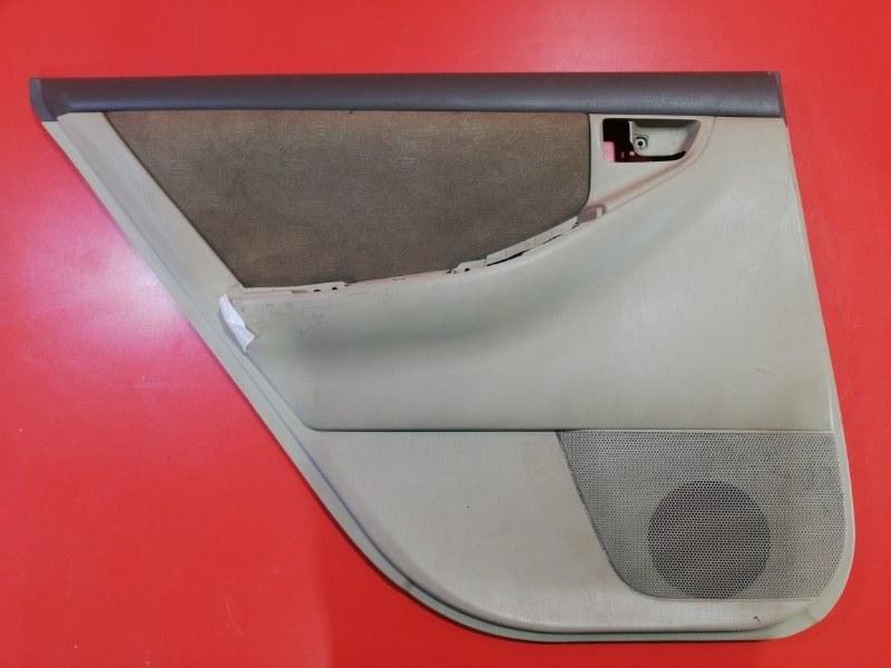 Обшивка двери Toyota Corolla Fielder NZE121 1NZ-FE 2000 задняя левая (б/у)