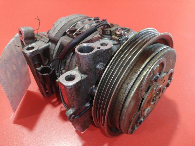 Компрессор кондиционера Nissan March K11 CGA3DE 2002 (б/у)