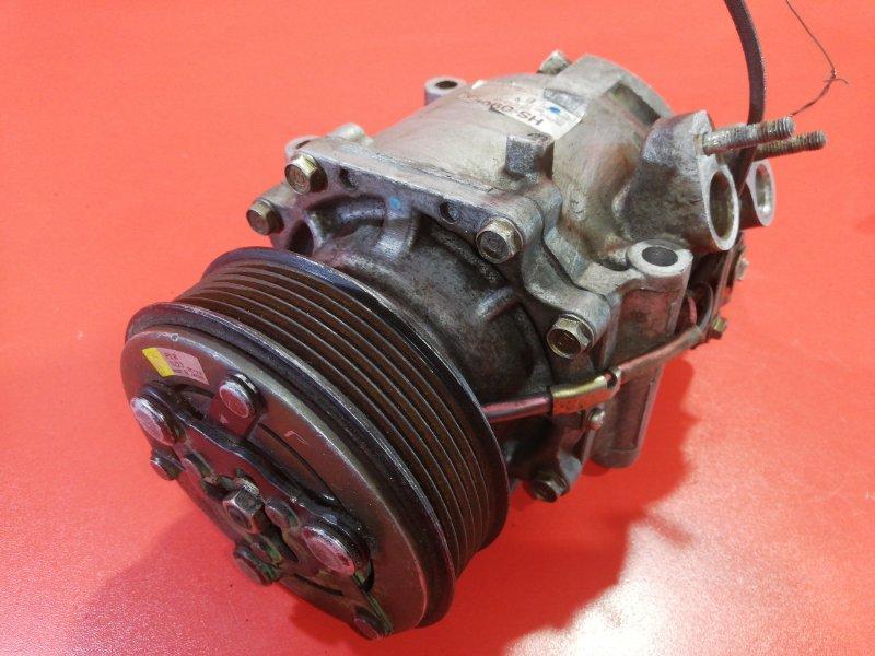 Компрессор кондиционера Honda Stream RN1 D17A 2001 (б/у)