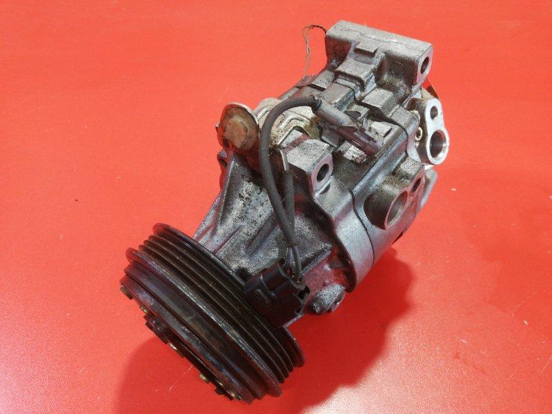 Компрессор кондиционера Toyota Vitz SCP10 1SZFE 1999 (б/у)