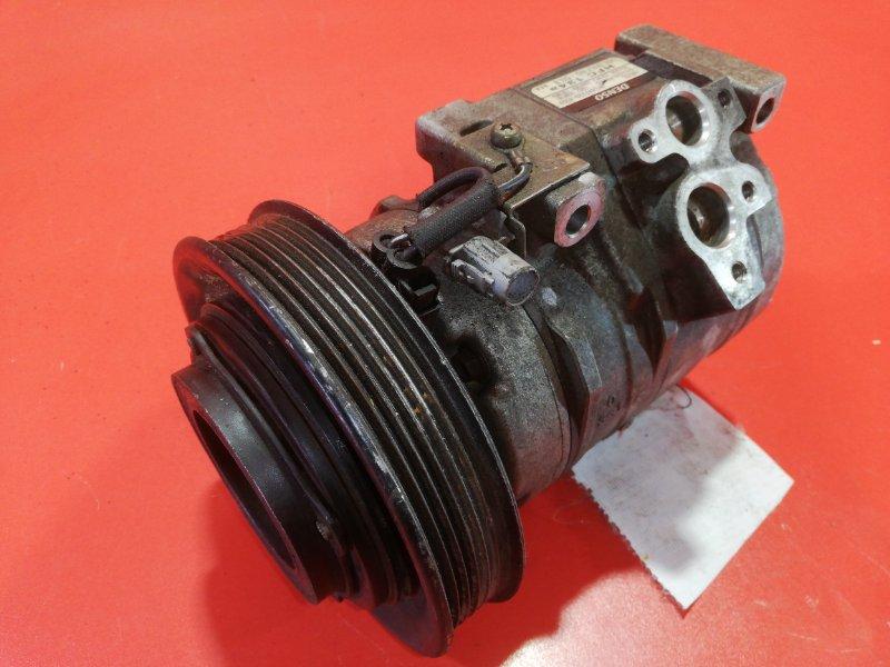 Компрессор кондиционера Toyota Matrix ZZE132 1ZZ-FE 2002 (б/у)