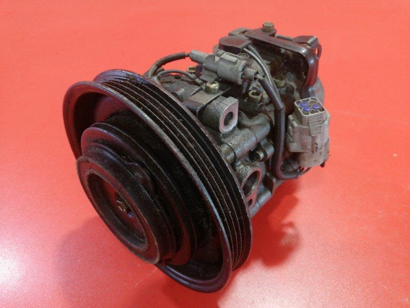 Компрессор кондиционера Toyota Sprinter AE102 4AFE 1999 (б/у)