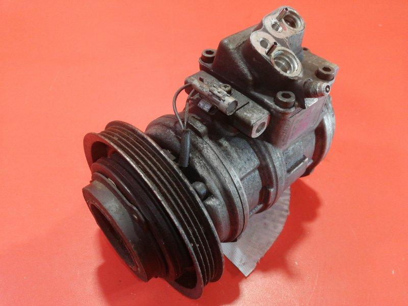 Компрессор кондиционера Toyota Mark Ii GX81 1G-FE 1988 (б/у)