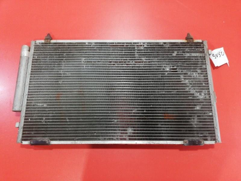 Радиатор кондиционера Toyota Vista AZV50 1AZFSE 1998 (б/у)