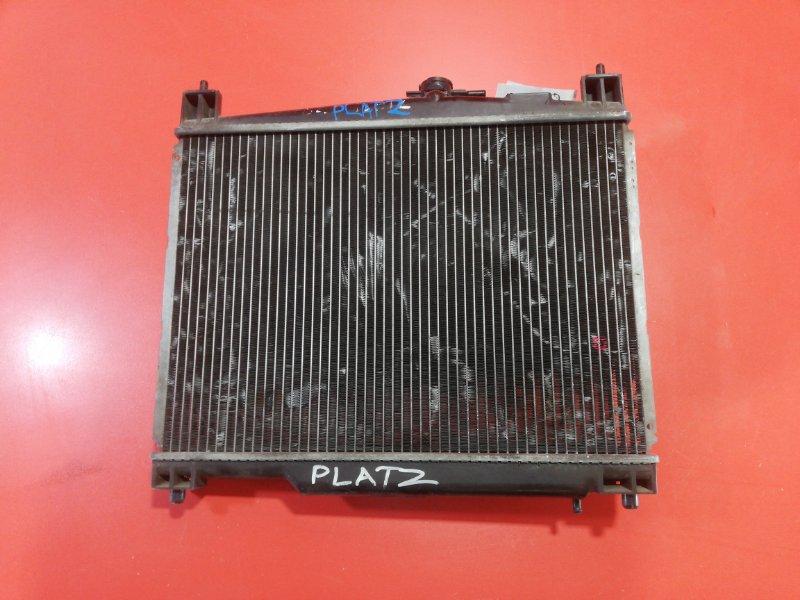 Радиатор двс Toyota Platz NCP12 1NZFE 1999 (б/у)