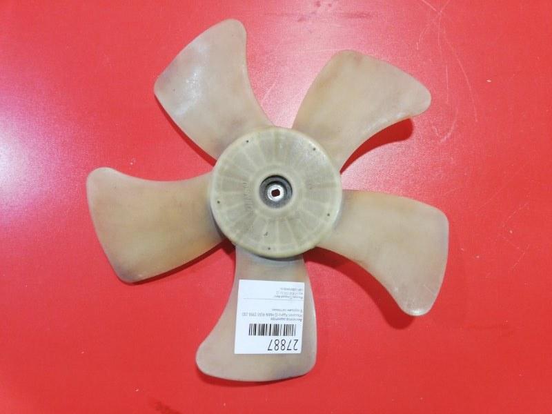 Крыльчатка вентилятора охлаждения Mitsubishi Pajero Io H66W 4G93 1998 (б/у)
