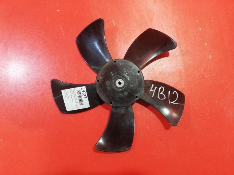 Крыльчатка вентилятора Mitsubishi Outlander CW6W 4B12 2005 правая (б/у)