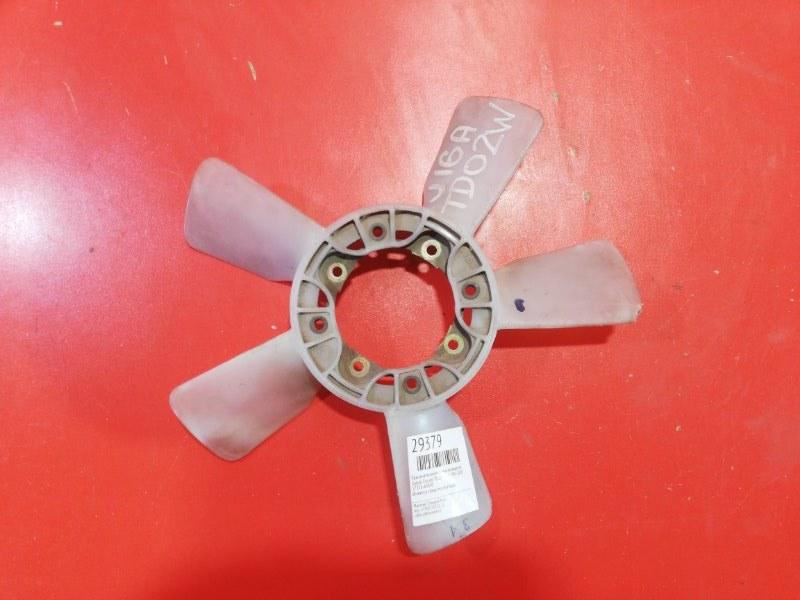 Крыльчатка вентилятора охлаждения Suzuki Escudo TD02W G16 1997 (б/у)
