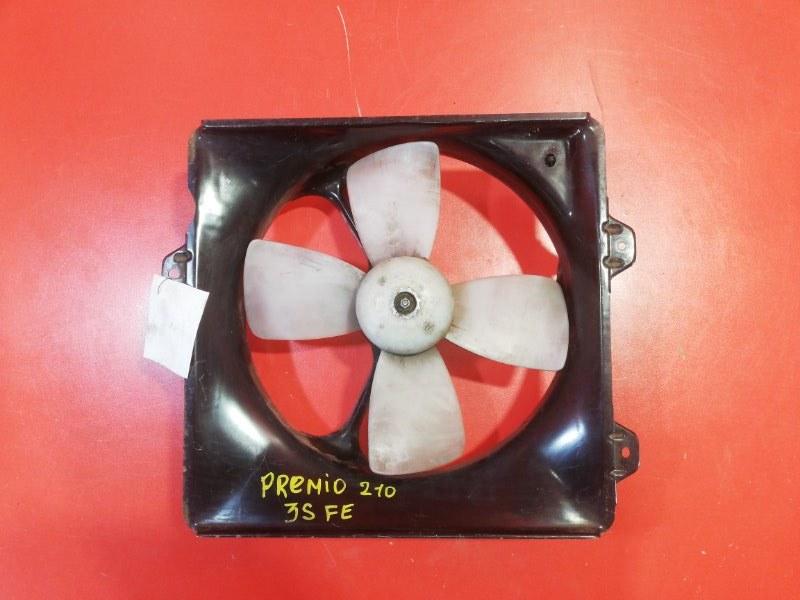 Вентилятор охлаждения радиатора Toyota Caldina ST210G 3S-FE 1997 (б/у)