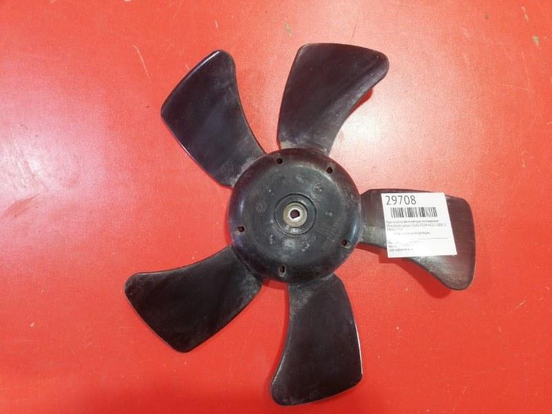 Крыльчатка вентилятора охлаждения Mitsubishi Lancer Cedia CS2A 4G15 2000 (б/у)