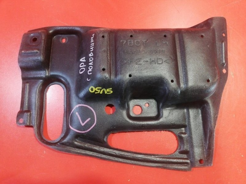 Защита двигателя Toyota Opa ZCT10 1ZZ-FE 2000 левая нижняя (б/у)