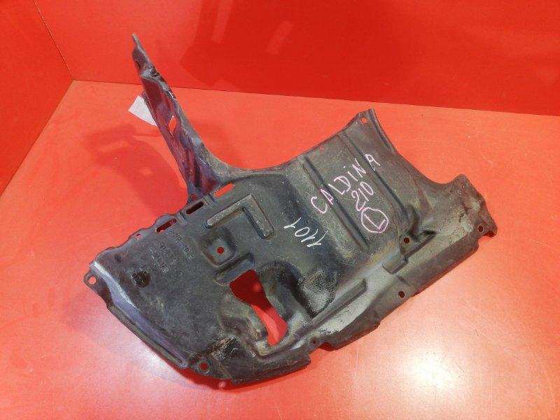 Защита двигателя Toyota Caldina ST210G 3S-FSE 1997 передняя левая (б/у)