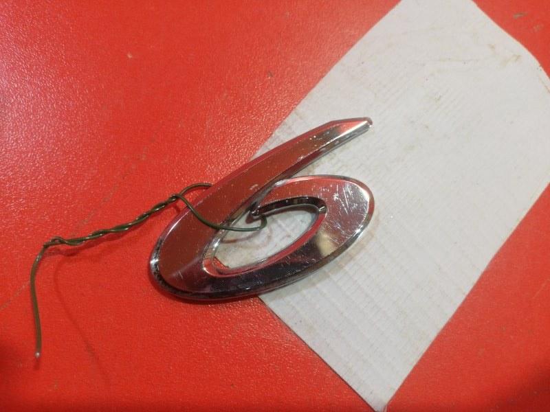 Эмблема Mazda Mazda 6 задняя (б/у)