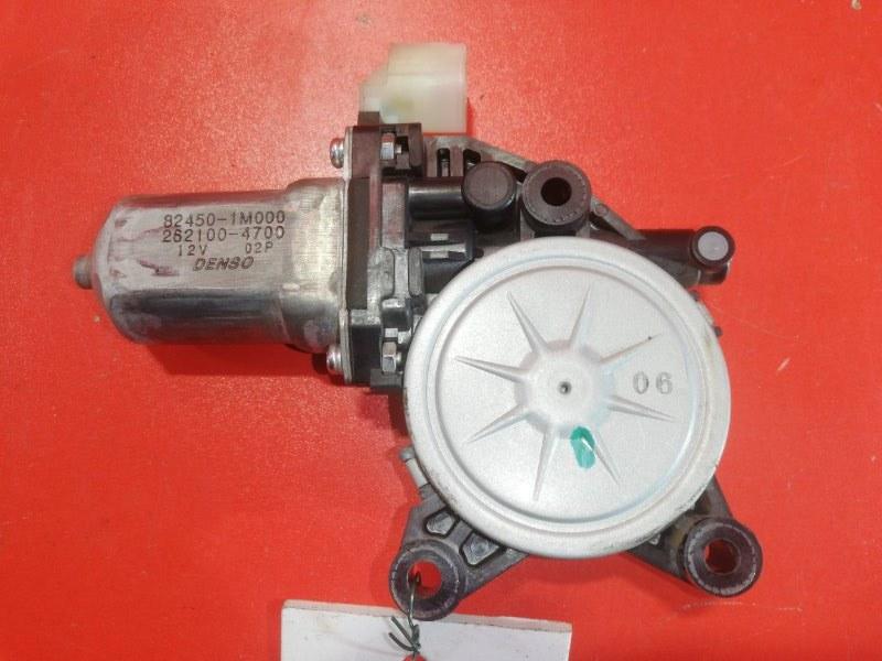 Моторчик стеклоподъемника Kia Cerato TD G4FC 2008 левый (б/у)