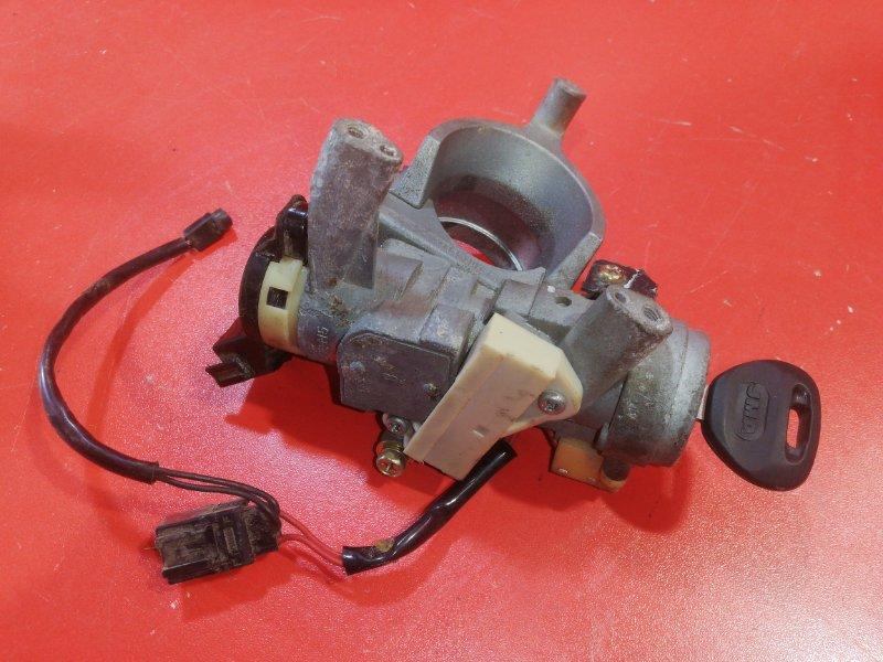Замок зажигания Mitsubishi Pajero Io H76W 4G94 1998 (б/у)