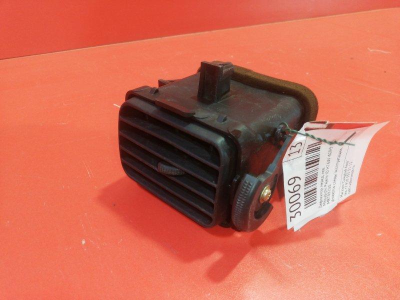 Дефлектор Mitsubishi Pajero Io H76W 4G93 1999 передний левый (б/у)