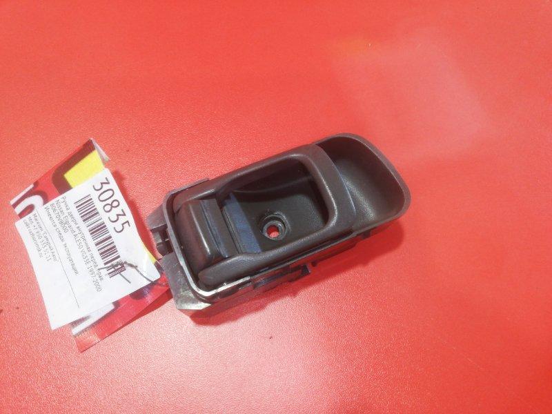 Ручка двери внутренняя Nissan Elgrand ALE50 VG33E 1997 передняя правая (б/у)