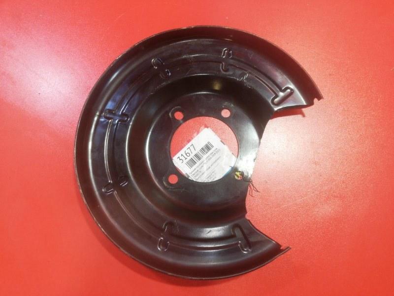 Пыльник тормозного диска Chevrolet Cruze J300 F18D4 2008 задний правый (б/у)